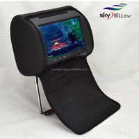 High quality headrest dvd player for car 9 inch monitor with HDMI wireless game rmvb mkv car dvd player
