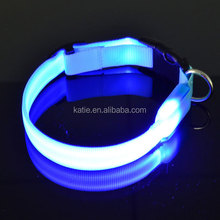 2014 Best Hot Sell Pet Safety Advanced Dog Collars Glow in Dark