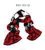 2015 Winter Most fashionable Unisex's acrylic jacquard Union jack pattern knitted long scarf shawl