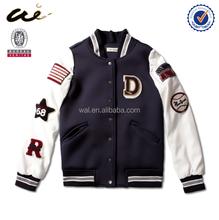 European New Style Cool best Ladies' baseball fleece jackets
