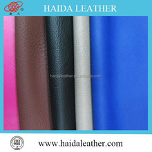 Luxury/classic eco-friendly waterproof anti-mildew durable pu leather material buy leather grain leather