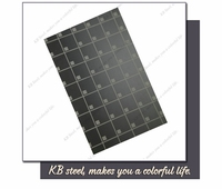 Interior decoration embossed finish 316l stainless steel sheet certificate sample