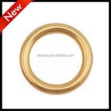 """9/16"""" brass O rings for handbag 7BR-916"""