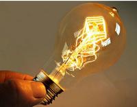vintage edison bulb antique edison light bulb carbon filament Edison bulb ST64 ST58 T45 A19 G80 G95 G125 40w