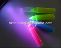 Mini ABS Permanent UV Marker -funny uv light invisible ink pen CH-6009-with3 colored uv active invisible ink