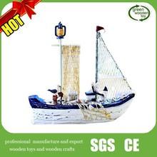 Mô hình Hot Sale buồm bằng gỗ, Tàu 2014 thương, Mô hình tàu bằng gỗ cổ