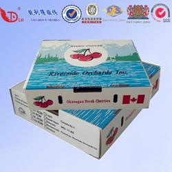 Corrugated Box For Fresh Fruit Packing Wholesale/Frozen Fruit/Banana box/Carton Fruit Packing Tray