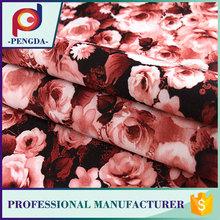 China fornecedores de alta qualidade barato tecido elástico de flores por atacado para vestidos