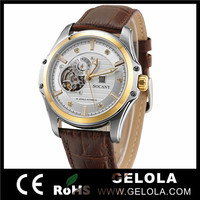 custom made automatic mechanical watch with stainless steel clasp with hand watch price in india
