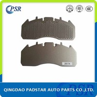 Auto Prats Made In China Carbon Steel Backing Plate for Truck Brake Pads