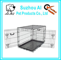 """New 36"""" Crate Metal Portable Folding Pet Cat Cage"""