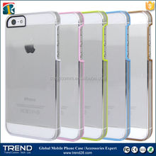 wholesale clear for iphone 5 custom back cover case