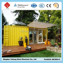 Cheap shipping container house shop hot sale