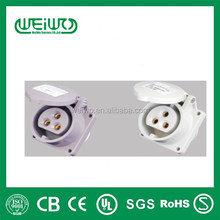 WL3231 made in china low current plugs IP44 32a
