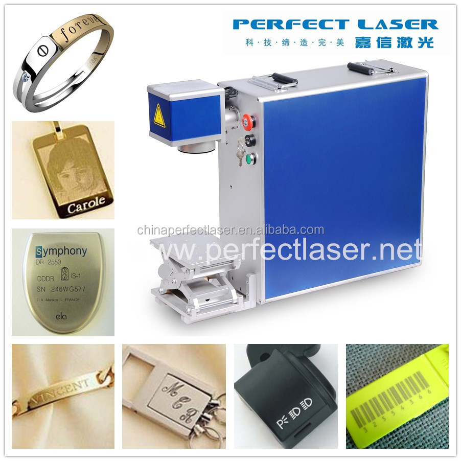 China 10w 20w 30w Portable Handheld Fiber Laser Engraver
