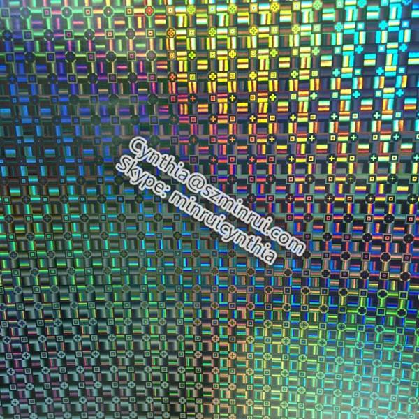 nouvelle mosa que holographique vinyle auto adh sif destructible laser mat riel papier vinyle. Black Bedroom Furniture Sets. Home Design Ideas