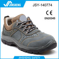 low heel elegant pu outsole safety shoes
