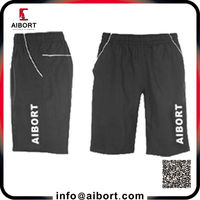 wholesale athletic gym shorts with screen print