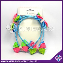 Spring Series Baby Hair Clip Grosgrain Ribbon Hair accessories