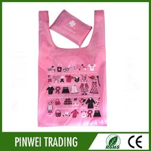 Large Capacity 3 colors foldable shopping bags for wholesale