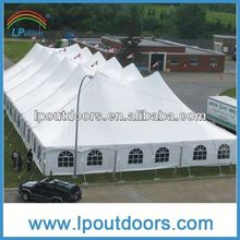 2014 Hot sales big luxury cheap steel frame party tent for event