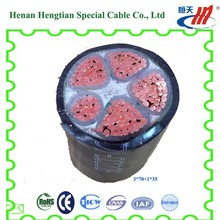 3x35+2x16 copper conductor electrical power cable