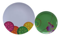 Placas redondas de melamina