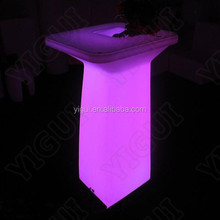 Night Club /Outdoor Moma LED Medium Bar Table/weeding table for sale