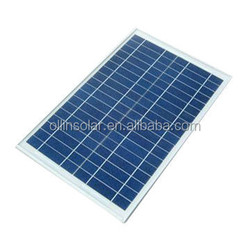 20W 18V Poly Solar Panel with High Efficiency