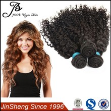 Hot selling Natural Color Can Be Dyed Popular Curly Human Hair Peruvian Virgin Hair Extension