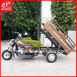 China Three Wheel Motorcycle/ 3 Wheel Tricycle/ Cargo Scooter Usin 150cc Gasoline Engine