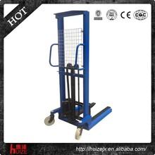 China 1500kg 1.6M lifting popular hydraulic hand stacker