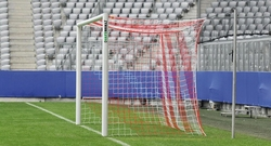 5,00 x 2,00 MT Full Aluminium Soccer Goal FOOTBALL GOAL Safe Soccer Goal With Patent With Foam And Pvc 7 FIXED [REF.310315]