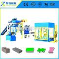 Linha de produção qt12-15 hollow block máquinas/face tijolo que faz a máquina na áfrica do sul