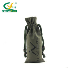 China supplier online shopping custom printing cotton bag drawstring