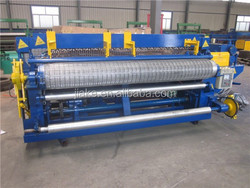 Full Automatic Animal Cage Runs Steel Wire Mesh Welded Machines