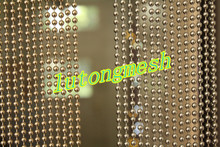 Best selling Metal ball chain room divider for home decor