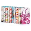 Wallet Style Stand Cross Texture PU Leather Case for HTC Desire 500