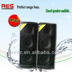 Square speaker for concerts super karaoke horn speaker for home subwoofer speaker for stage and conference