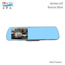 new full hd 1080p dual camera front rear camera car dvr