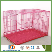 2015 Wholesale bamboo pet dog cages 8-l/dog cage sample