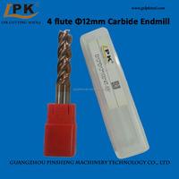 High Efficient Carbide End Mill Dia. 12mm