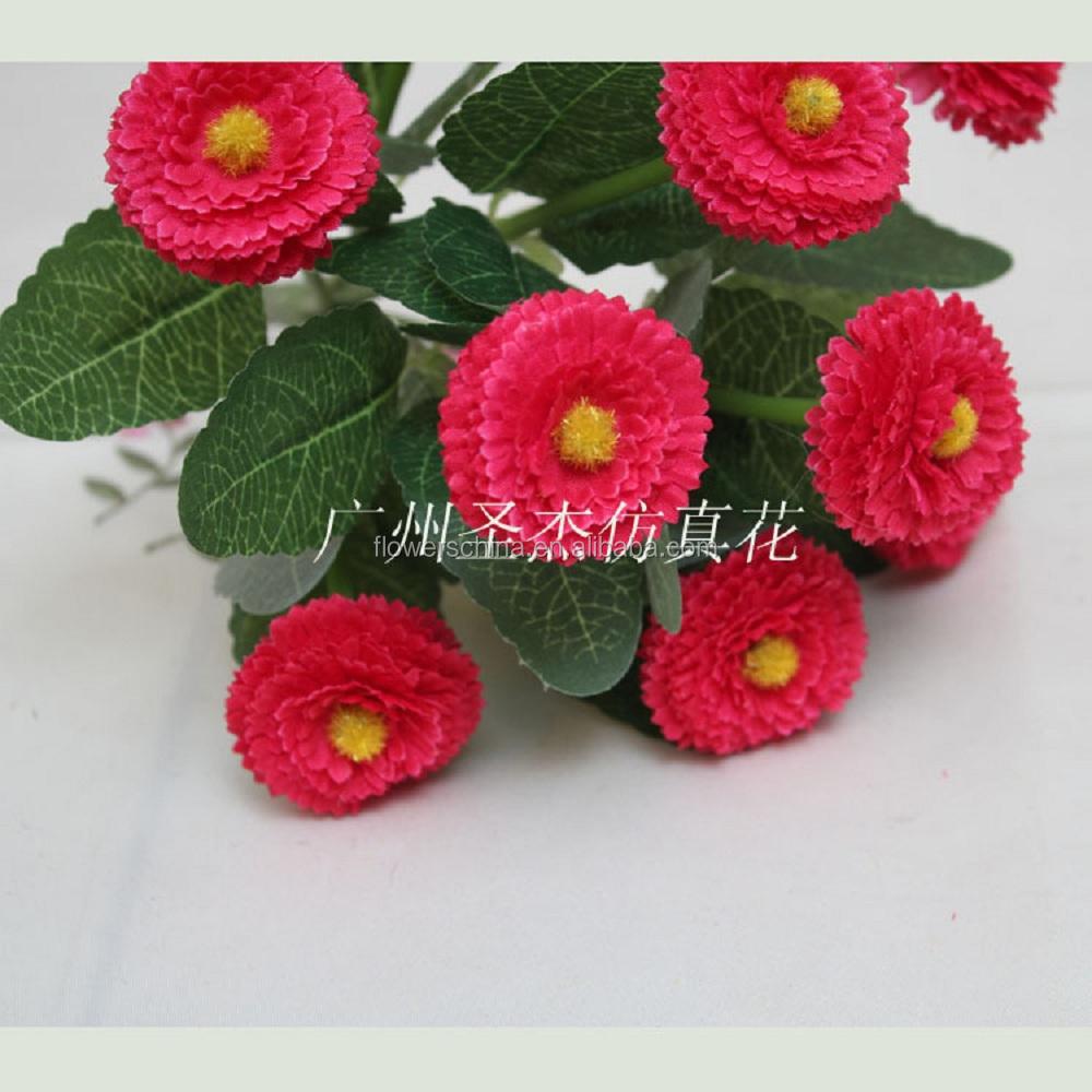Fresh Cut Fake Cheap Chrysanthemum Decoration Flowers