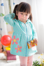 Newest factory direct sale Child garment cute cotton baby girl sherpa jacket