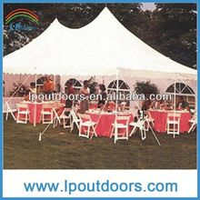 Practical pole tent--beautiful dome tents