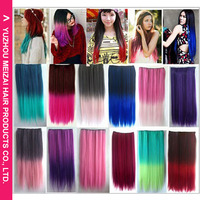 The new 2015 European and American popular 5 card gradient hair piece