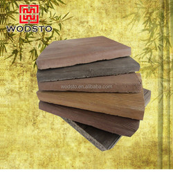 Anti-UV decorative wooden house siding board with cheap price