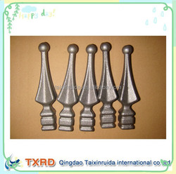 ornamental wrought iron spears& finials for gate/fence