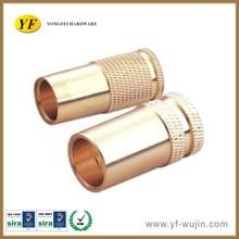 CNC Lathe Precision Machining Turning Brass Electronical Parts