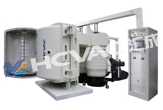 Cm plastik krom kaplama makinesi, krom kaplama ekipmanları, pvd krom fışkırtması kaplama makinesi